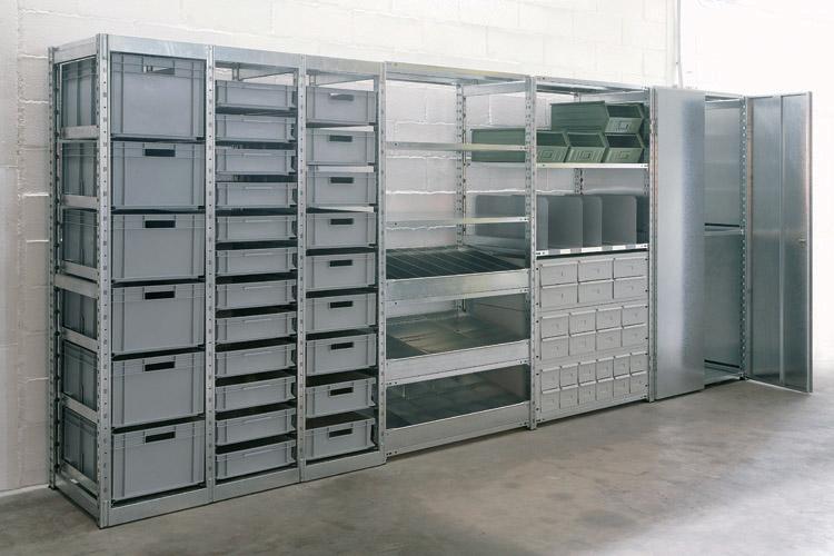 Armadi e scaffalature da esterno in metallo fuori le mura for Armadi di metallo per uffici