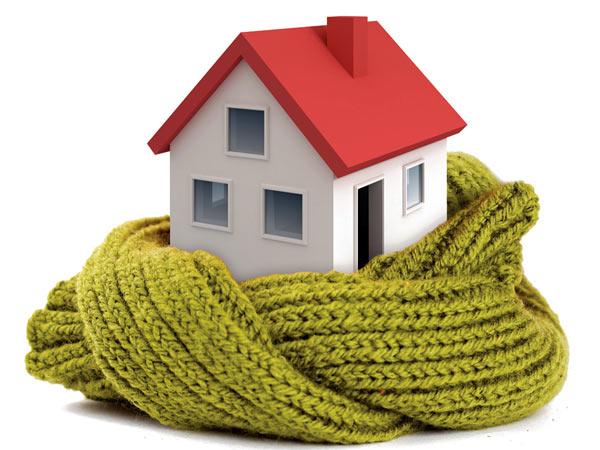 Pareti termiche per proteggersi dall'inverno in casa.