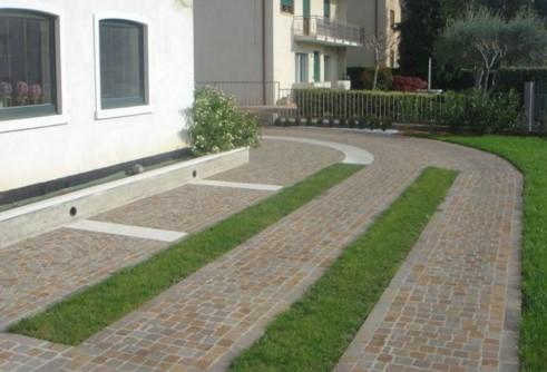 Pavimentazione per esterni a bolzano eleganti e funzionali - Pavimentazione cortile esterno ...