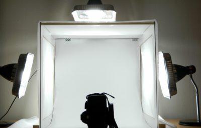 cubo fotografico professionale